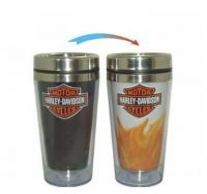 Stainless Steel Color Changing Mug, Ceramic Magic Mu Manufactures