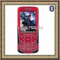 China Spider Man Cell Phone Dual SIM Music Mobile Phone on sale