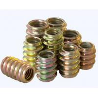 Buy cheap 4.8 Grade M2.5 M4 Brass Round Nut Zinc Plate Surface 6h Tolerance For Wood from wholesalers