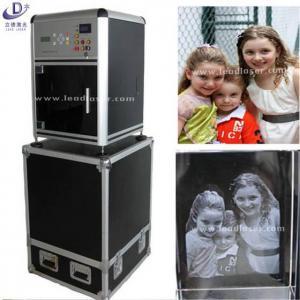 3D Photo Portrait Crystal Laser Engraving Machine Manufactures