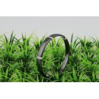 Jewellery Ceramic 925 Sterling Silver Bangle With White Stone , Silver Bracelet For Women CSB0250 Manufactures