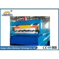 China Main Power 5.5kW Corrugated Sheet Forming Machine PLC System Servo Guiding Device on sale