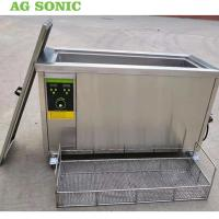 China Engine Cylinder Ultrasonic Cleaning Equipment 80l Metal Parts Degreasing Machine on sale