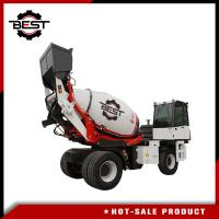 4 cubic meters self loading concrete mixer for truck Manufactures
