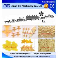 Buy cheap Automatic potato pellet chips fried chips making machine production line from wholesalers