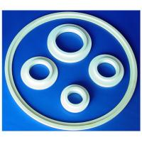 Wear Resistance High Thermal Stability Industrial Ceramic Sealing Rings 95% / 99% Alumina Manufactures