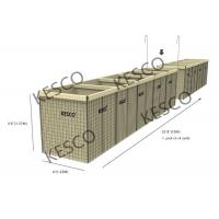 Hesco Bastion Barrier Flood Barrier Control Mil 8 Military Sand Wall Manufactures
