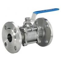 Flanged Stainless Steel Valves 3PC Full Bore With Flanged Clamp End Manufactures