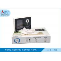 Wireless Gsm Smart Home Security Devices , House Security Alarm Control Panel Manufactures