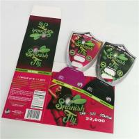 China Male Enhancement Pills Blister Pack Packaging Paper Card For D2 Sex Pill Capsules on sale