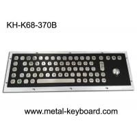 Electroplated Black Industrial Keyboard with Trackball Stainless Steel Laser Trackball Manufactures