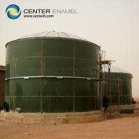 China 10000 Gallon Glass Coating Leachate Storage Tanks With NSF Certification on sale
