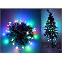 China 5V Fullcolor LED Party light 50PCS 1903IC RGB 12mm Pixels digital Addressable String Christmas tree decoration on sale