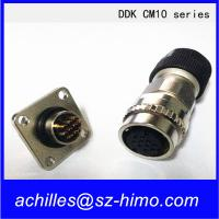 10pin Ddk Cm10 Series Servo Motor Quick Connector Male And