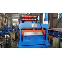 7.5KW Eaves Gutter Automatic Rolling Forming Machine Steel Sheet Manufactures