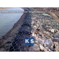Coastal Protection Gabion Mesh Boxes with Double Twisted Hexagonal Wire Mesh Manufactures