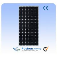 Anodized Aluminum Frame Solar Power Panel, Monocrystalline Solar Panel For Home Use Manufactures