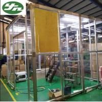 Aluminum Frame Acrylic Wall Portable Clean Booth Room For Indonisia Package Industry Manufactures