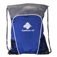 Fashional Style Drawstring Bags with Phone Pocket for Promotional-HAD14025 Manufactures
