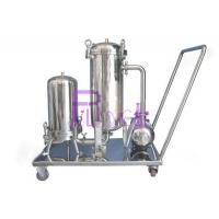320kg Beverage Syrup Filter For Soft Drink Processing Equipment SUS304 1.5mm Single Layer Manufactures