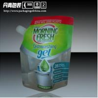 Non-Leakage Washing Liquid Bag    Detergent Packaging       Stand Up Pouch With Spout Manufactures