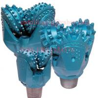 China Rotary Rock Drilling Tricone Drill Bit with Open Bearing Steel Tooth Forging Type on sale
