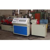 High Speed Corrugated Pipe Production Line PE / PVC Single Wall Extruder Manufactures