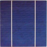 China 156*156mm multicrystalline silicon solar photovoltaic cell on sale
