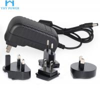 China 12V 2A 24W Ac To Dc Power Converter , Interchangeable Universal Ac Dc Adapter on sale