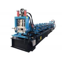 China Z Purlin Roll Forming Machine For Construction Material Large Capacity on sale