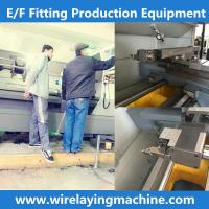 China pe coupling wire laying machine cx-32/160zf , cx-315/630zf wire laying machine on sale