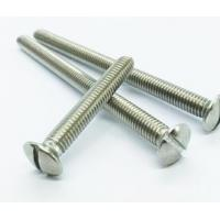 Buy cheap M1 M2 M3 Self Tapping Countersunk Screws Stainless Steel DIN964 For Machinery from wholesalers