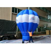 5m Tall Inflatable Advertising Ground Balloon / Hot Air Shaped Balloon For Events for sale