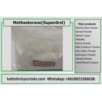Steroid Hormone Powder Methasterone / Superdrol / Methyl - Drostanolone / Methyldrostanlone CAS 3381-88-2 Manufactures