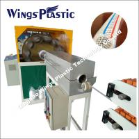 China PVC High Pressure Fiber Braiding Hose Extruder Machine / Production Line on sale