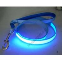 First Class Green LED Flash Safty Nylon Dog Leash Manufactures