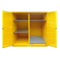 Flammable Drum Storage Cabinets , Gasoline Storage Cabinets 2 Door For Oil Tank Drum Manufactures