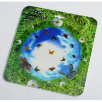 OK3D 3D flip morph zoom animation explosion twist compress rotation zig zag lenticular printing mouse pads for promotion Manufactures