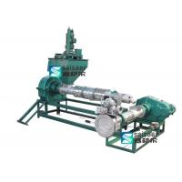 Industrial Plastic Recycling Pellet Machine Strong Wear Resistance 80-180 Rpm Capacity Manufactures