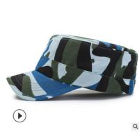 100% Cotton Military Camouflage Cap , Army Military Hats 57CM Size Manufactures