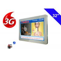 3g wireless Bus LCD Advertising Display TV Commercial Digital Signage media player Manufactures