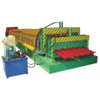 China Double Layer Corrugated Sheet Roll Forming Machine For Two Different Profiles on sale