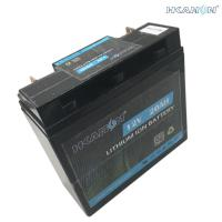 Ebike Rechargeable Li Polymer Battery Deep Cycle 4S4P IFR32700 12V 24Ah 20hr Manufactures