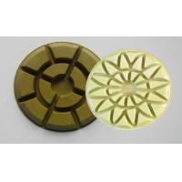 Dry Floor Polishing Pad (Concrete、Marble、Granite) (Dimension:ZX5002) Manufactures