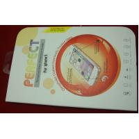 China Iphone5 / 5S Cell Phone Screen Protectors Tempreture Anti-proof With 0.2mm Thin Glass on sale
