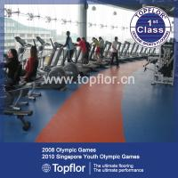 China PVC Sports Flooring for Gym Fitness Equipment Flooring on sale