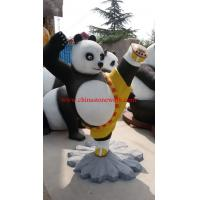 China resin Kongfu panda statue on sale