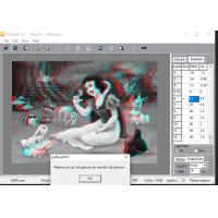 PSDTO3D lenticular software certificate of copyright and PSDTO3D Advanced version 3d lenticular software designs Manufactures