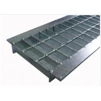 Anti Slip Outdoor Drain Grate Covers , Serrated Steel Trench Covers Grates Manufactures