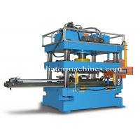 Condenser Header Pipe Punching Machine , Automatic Punching Machine For D Tubes Manufactures